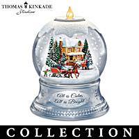 Thomas Kinkade A Season Of Lights Snowglobe Collection