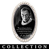 Ruth Bader Ginsburg's Pearls Of Wisdom Wall Decor Collection