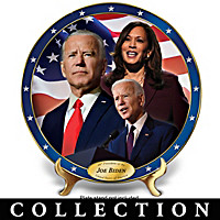 Official Election Commemorative Collector Plate Collection