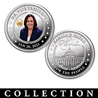 Kamala Harris Proof Coin Collection