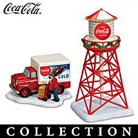 COCA-COLA Christmas Railroad Accessory Collection