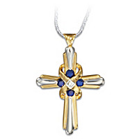 Heaven's Eternal Promise Cross Pendant