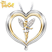 Tinker Bell Believe Pendant Necklace