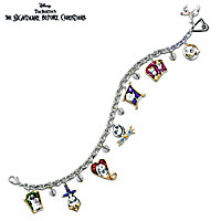 Tim Burton\'s The Nightmare Before Christmas Charm Bracelet