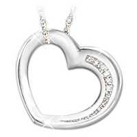 My Daughter Have I Told You Lately Diamond Pendant Necklace