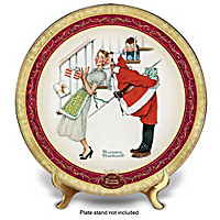 Christmas Surprise Collector Plate