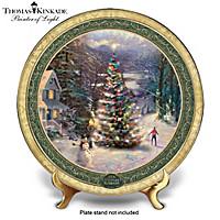 Thomas Kinkade O Christmas Tree Collector Plate