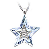Granddaughter, You\'re My Shining Star Pendant Necklace