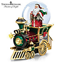 Thomas Kinkade Santa Claus Is Comin\' To Town Train Car