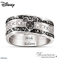Mickey Hidden Message Ring