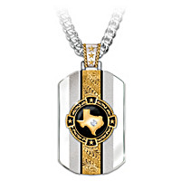 Texas Pride Pendant Necklace