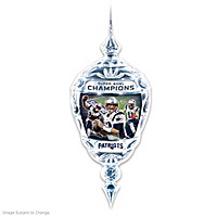 New England Patriots Super Bowl LI Champions Ornament