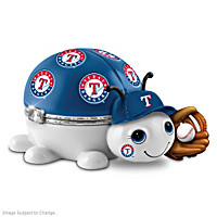 Texas Rangers Love Bug Music Box