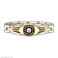 Pittsburgh Steelers Men\'s Bracelet