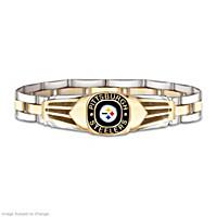 Pittsburgh Steelers Men\'s Bracelet