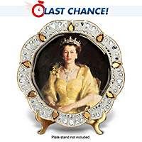 Queen Elizabeth II Diamond Jubilee Edition Collector Plate