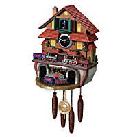 Golden Spike Cuckoo Clock