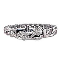 American Pride Men\'s Bracelet