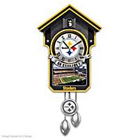 Pittsburgh Steelers Cuckoo Clock