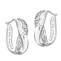 Pure Faith Diamond Earrings