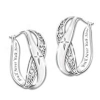 Pure Faith Diamond Earrings