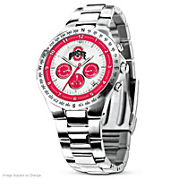 Ohio State Buckeyes Men\'s Collector\'s Watch