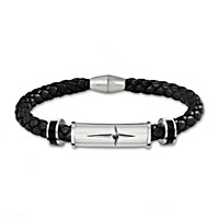 Protection And Strength For My Son Men's Bracelet