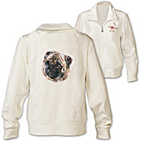 Doggone Cute Pug Women\'s Jacket
