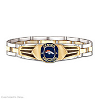 Denver Broncos Men\'s Bracelet