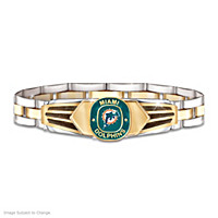 Miami Dolphins Men\'s Bracelet