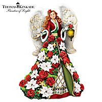 Thomas Kinkade Blessings Of The Season Figurine
