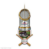 2018 World Series Champions Red Sox Trophy Ornament