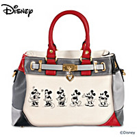 Disney Mickey And Minnie Love Story Handbag