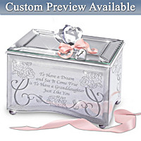 Granddaughter, You\'re A Dream Come True Music Box