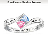 Love\'s Promise Personalized Ring