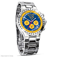 West Virginia Mountaineers Men\'s Collector\'s Watch