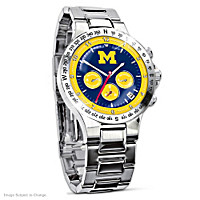 Michigan Wolverines Men\'s Collector\'s Watch
