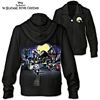 Tim Burton\'s The Nightmare Before Christmas Women\'s Hoodie