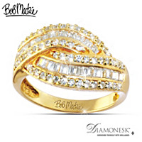 Golden Glamour Ring