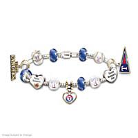 Go Rangers! #1 Fan Charm Bracelet