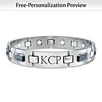 Optimum Personalized Men\'s Bracelet