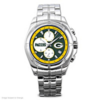 Green Bay Packers NFL Chronograph Men\'s Watch