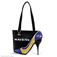 Kick Up Your Heels Ravens Handbag