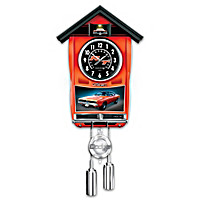 Dodge Charger Cuckoo Clock