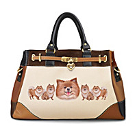 Fashion\'s Best Friend Pomeranian Handbag