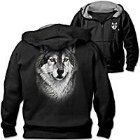 Lone Wolf Men\'s Hoodie