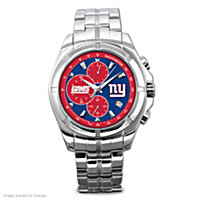 New York Giants NFL Chronograph Men\'s Watch