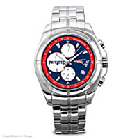 New England Patriots NFL Chronograph Men\'s Watch