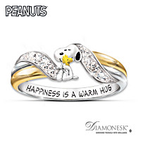 Happiness Is PEANUTS Ring