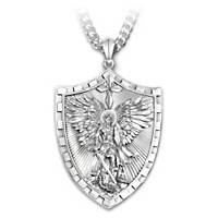 Triumph Of St. Michael Pendant Necklace